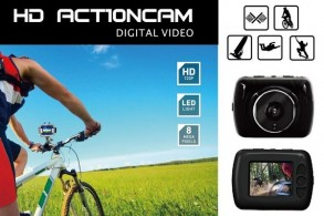 Vandtæt HD Action Camera
