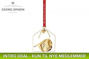 Georg Jensen Gold Bird (Black Week)