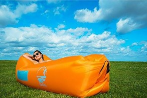 Air Bed til haven/stranden