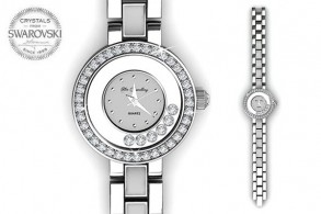 Elegant Crystal Watch