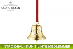 Georg Jensen Christmas Bell (Black Week)