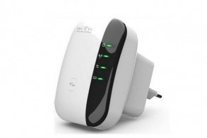 Billig WiFi repeater m. router