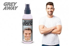 Grey Away spray mod gråt hår