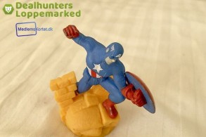 Captain America Figur  (Gratis for medlemmer)