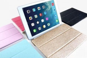 Metallic iPad cover