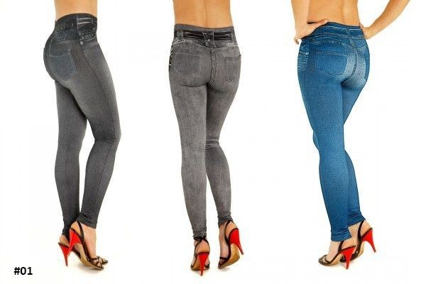 3 stk. slimming leggings