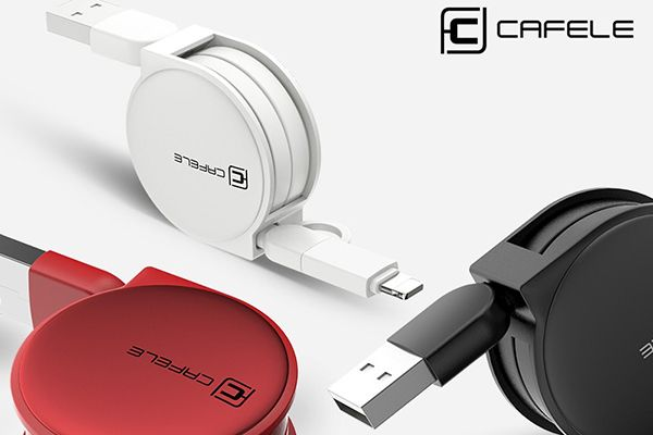 Smart USB-kabel med oprul