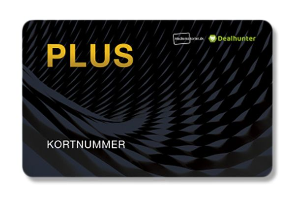 PLUS-Kort (Gratis for medlemmer)