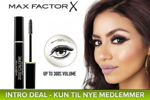 Billig Max Factor mascara